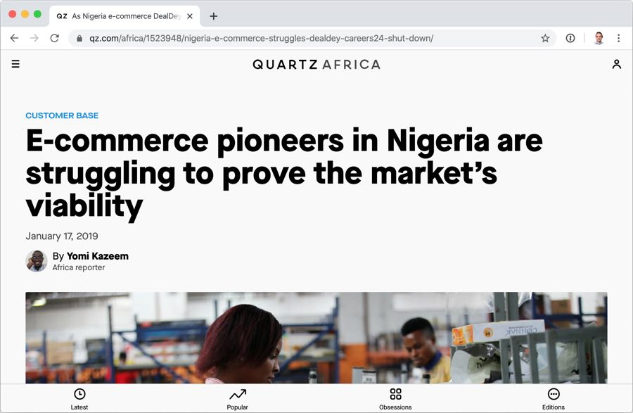 African Ecommerce Startup Problems